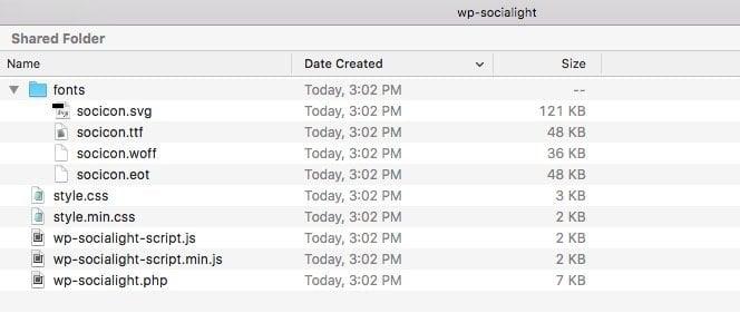 wp-socialight-files-folders
