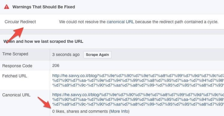 facebook-redirect-loop