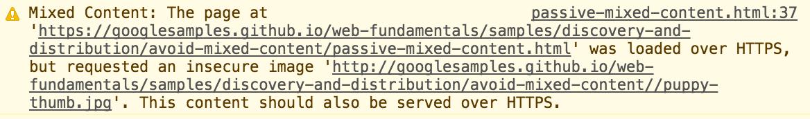 מעבר ל HTTPS - אזהרת Mixed Content