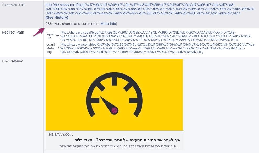 שמירה על הלייקים והתגובות של פייסבוק לאחר מעבר ל HTTPS