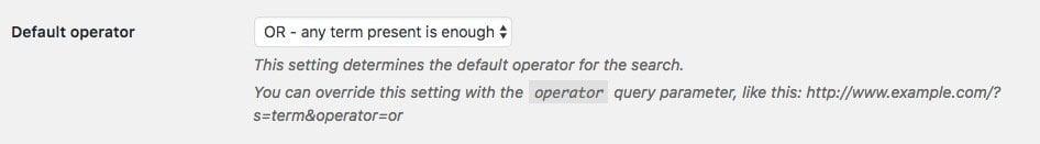 relevanssi-operator