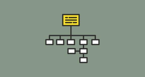 היררכיה של תבניות עמוד Single Pages