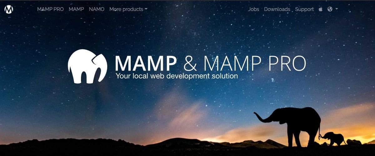 MAMP Opening Screen