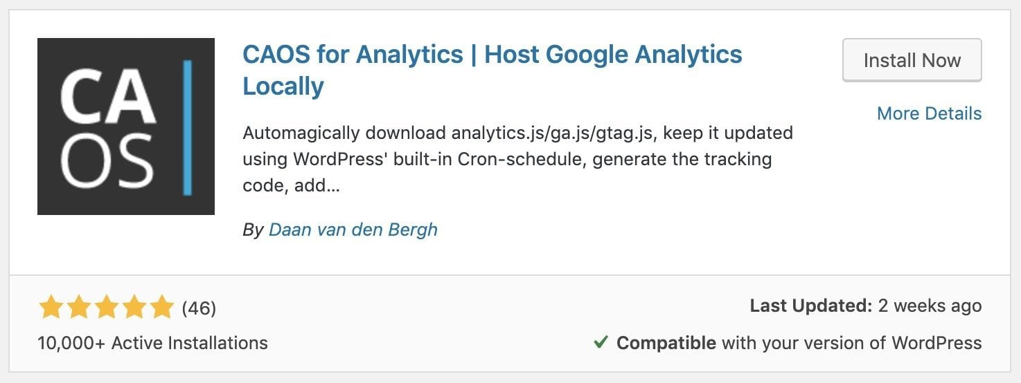 Host Google Analytics Locally