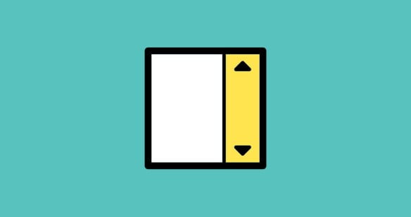 עיצוב פסי גלילה (Scrollbars) עם CSS