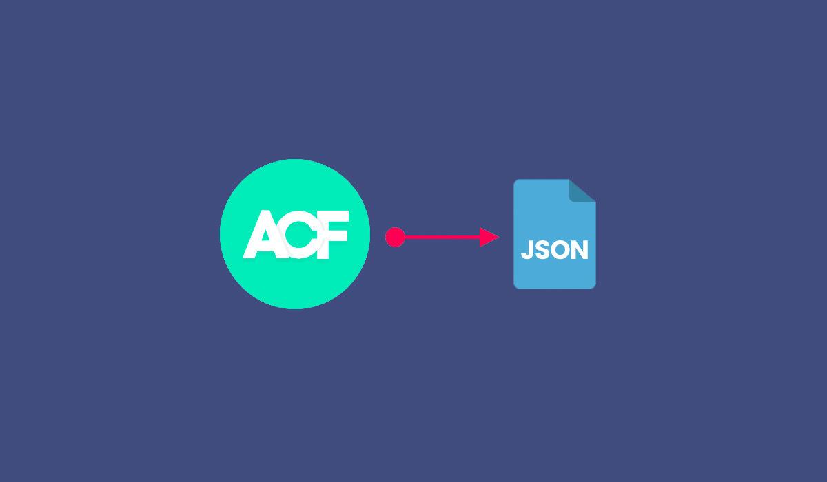 מספר מילים על ACF Synchronized JSON